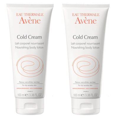 Kit Avene Cold Cream Creme para Mãos 2 Unidades
