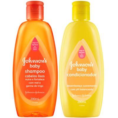 Imagem 1 do produto Kit Shampoo + Condicionador Johnson´s 200ml