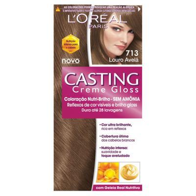 Loreal Coloração Casting Creme Gloss 713 Louro Avelã