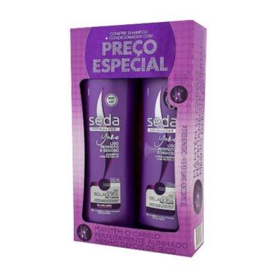 Imagem 1 do produto Shampoo + Condicionador Seda Liso Perfeito 325ml