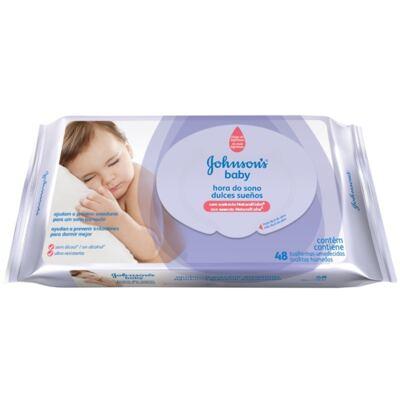 Imagem 1 do produto Lenço Umedecido Johnson´s Baby Hora do Sono 48 Unidades