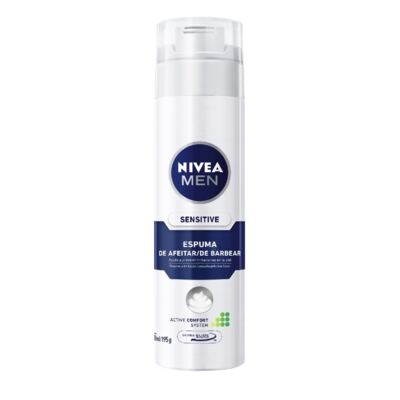 Imagem 2 do produto Espuma Barba Nivea For Men Sensitive 193g