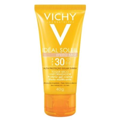 Protetor Solar Vichy Idéal Soleil FPS 30 Efeito Base 40g