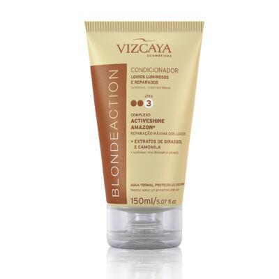 Imagem 7 do produto Shampoo Vizcaya Blonde Action 200ml + Condicionador Vizcaya Blonde Action 150ml