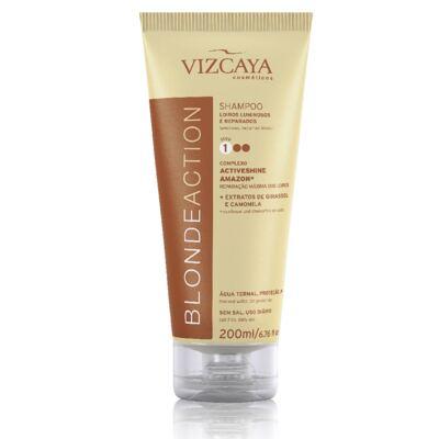 Imagem 12 do produto Shampoo Vizcaya Blonde Action 200ml + Condicionador Vizcaya Blonde Action 150ml