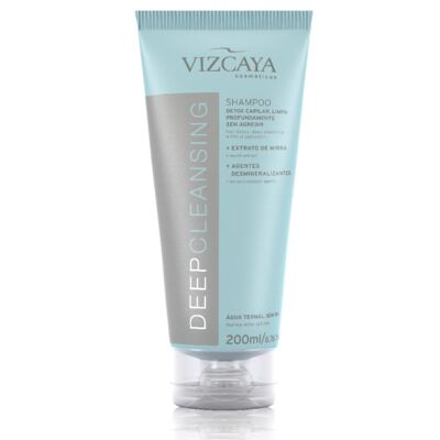 Shampoo Vizcaya Deep Cleansing 200ml