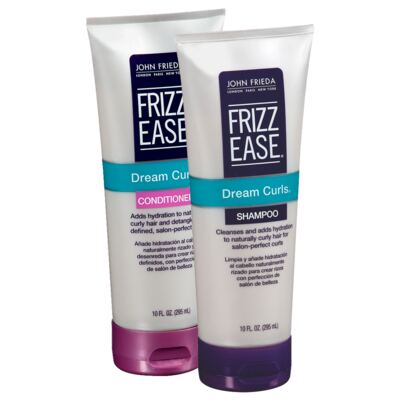 Kit John Frieda Frizz-Ease Smooth Start Hydrating Shampoo + Condicionador 295ml