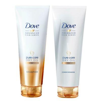 Kit Dove Pure Care Dry Oil Shampo + Condicionador 200ml