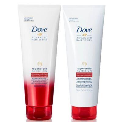 Imagem 1 do produto Kit Dove Regenerate Nutrition Shampoo + Condicionador 200ml