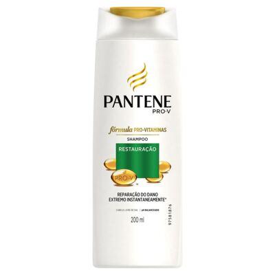 Imagem 2 do produto Kit Pantene Restauração Shampoo 200ml + Condicionador 3 Minutos Milagrosos 170ml