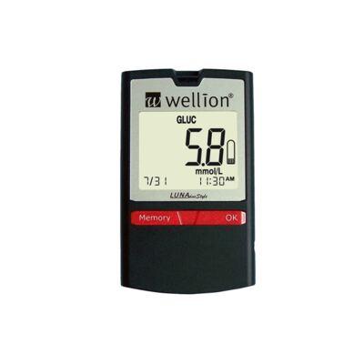 Kit Medidor de Glicose e Colesterol Luna Duo Style Wellion