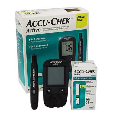 Imagem 1 do produto KIT MEDIDOR DE GLICOSE ACTIVE ACCU-CHECK