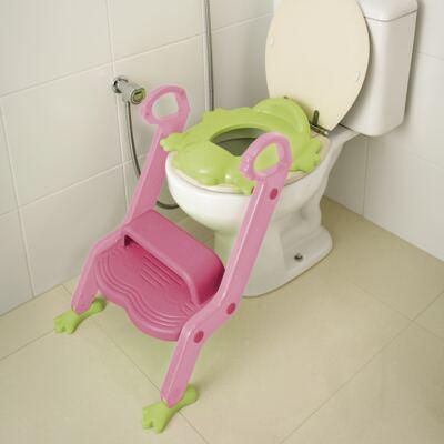 Redutor de Assento Com Escada Menina Multikids Baby - BB052