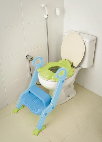 Imagem 1 do produto Redutor de Assento Com Escada Menino Multikids Baby - BB051