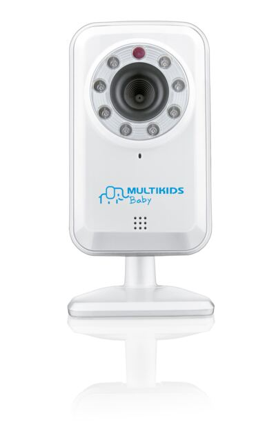 Babá Eletrônica Multikids Baby Wi-Fi BB209