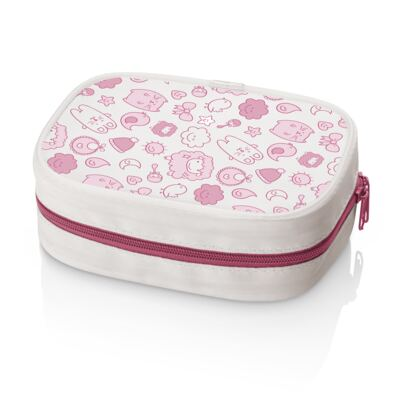 Kit Higiene Rosa Multikids Baby - BB098