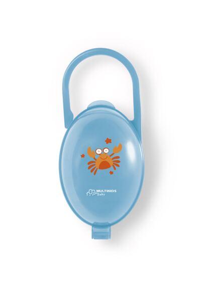 Imagem 1 do produto Porta Chupeta Azul Multikids Baby - BB141