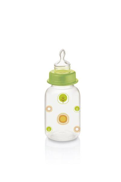 Mamadeira Nature Pp Verde Ortoflex 125Ml Multikids Baby - BB113