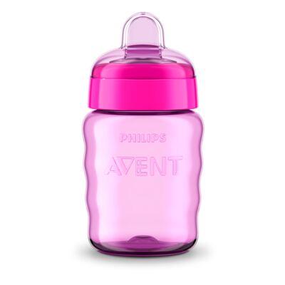 Imagem 2 do produto Copo Infantil Antivasamento Avent Easy Girls 260ml