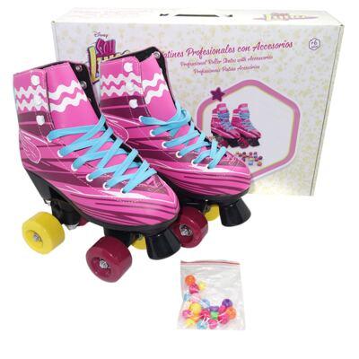 Imagem 1 do produto Patins Sou Luna Roller Skate 2.0 Tam. 38 Multikids - BR721