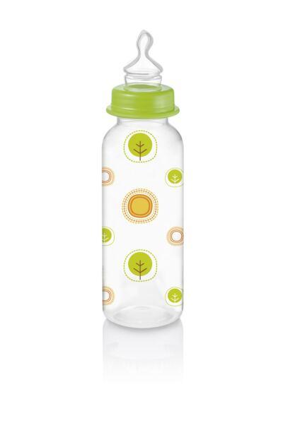Imagem 1 do produto Mamadeira Nature Pp Verde Ortoflex 250ml Multikids Baby - BB115