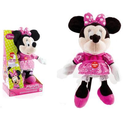 Pelúcia Disney - Minnie Happy Sounds Multikids - BR227