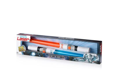 Space Laser Kit 2 Espadas Multikids - BR382