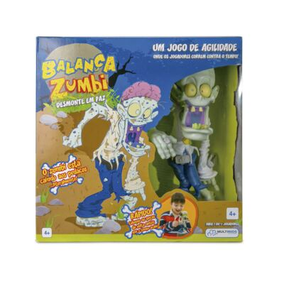 Jogo Balança Zumbi - BR028