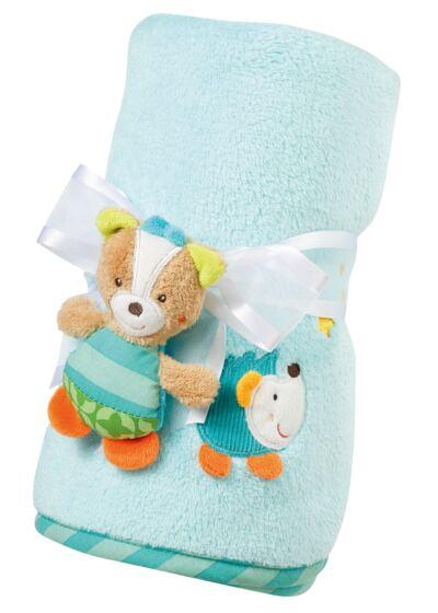 Imagem 1 do produto Manta bebê urso Multikids baby - BR706