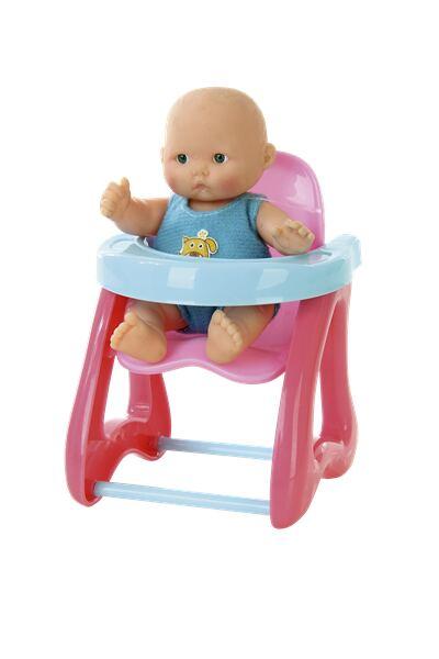 Imagem 1 do produto Mami Baby Boneca Com Cadeirão Multikids - BR657