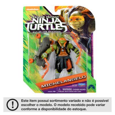 Imagem 5 do produto Tartarugas Ninja Filme II Figura Basica Multikids - BR534
