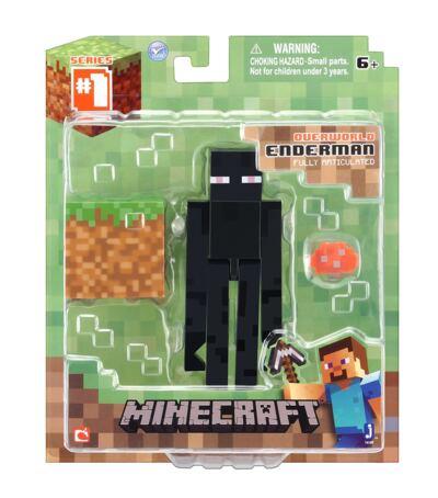 Boneco Enderman Minecraft com Acessórios - BR144A