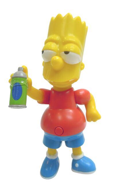 Imagem 1 do produto Boneco Simpsons Bart 15 Cm com Som - BR501