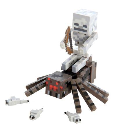 Imagem 1 do produto Boneco Spider Jockey Minecraft - BR152