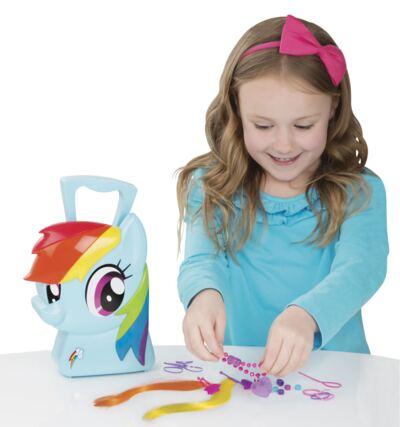 My Little Pony Maleta Rainbow Dash Estilista - BR377