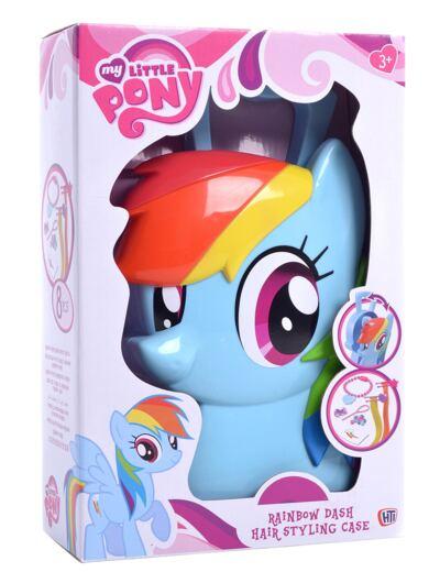 Imagem 3 do produto My Little Pony Maleta Rainbow Dash Estilista - BR377