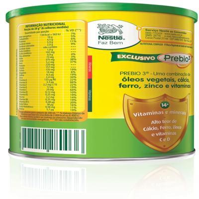 Imagem 2 do produto Composto Lácteo Nestlé Ninho Fases 3+ 400g