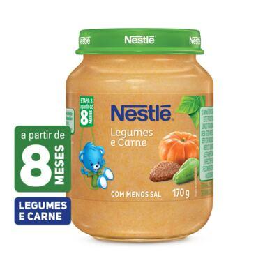 Imagem 1 do produto Papinha Nestlé Legumes e Carme 170g