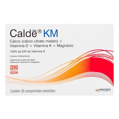 Imagem 1 do produto Caldê KM Marjan 30 Comprimidos Revestidos