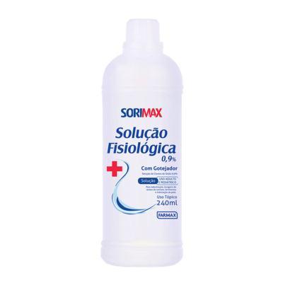 Sorimax Soro Solução Fisiológica 0,9% com Gotejador 240ml