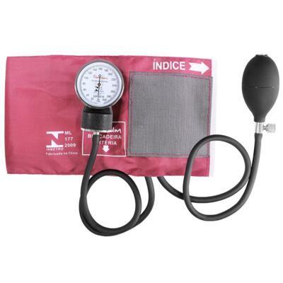 Imagem 7 do produto Kit Esteto Cardiológico Preto com Aparelho de Pressão Vinho Premium