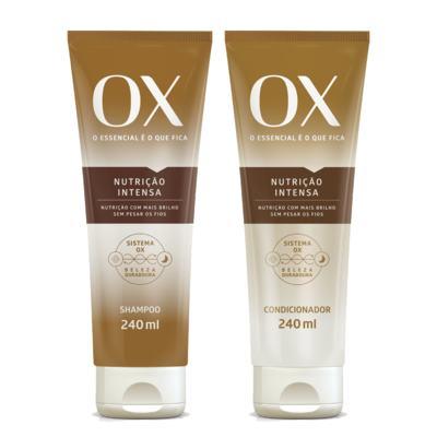Kit OX Oils Nutrição Intensa Shampoo + Condicionador 240ml