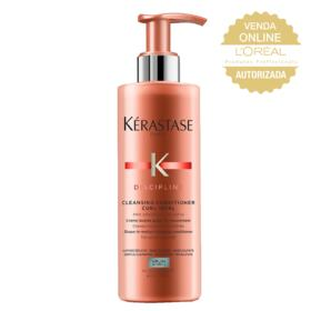 Kérastase Discipline Curl Ideal Light Poo - Condicionador Limpante - 400ml