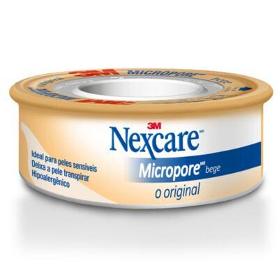 Fita Micropore Nexcare Bege 100mm x 4,5m