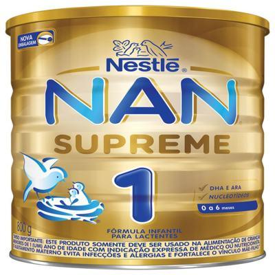 Imagem 4 do produto Formula Infantil Nan 1 - Supreme | 800g