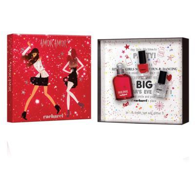 Imagem 1 do produto Amor Amor Cacharel - Feminino - Eau de Toilette - Perfume + 2 Esmaltes - Kit