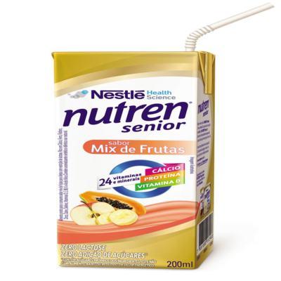 Suplemento Alimentar Nestlé Nutren Senior Mix de Frutas 200ml