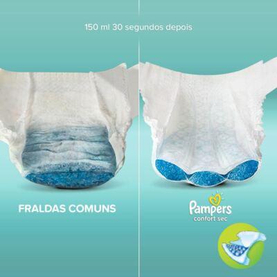 Imagem 4 do produto Fralda Descartável Pampers Confort Sec G 38 Unidades