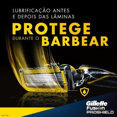 Imagem 2 do produto Aparelho de Barbear Gillette Fusion Proshield Flexball