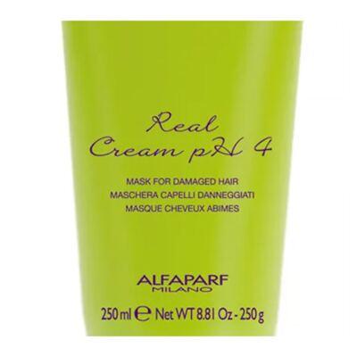 Imagem 2 do produto Alfaparf Salone Real Cream PH4 - Máscara Reestruturante - 250ml